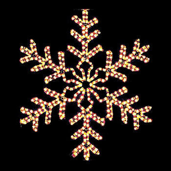 Wintergreen P6475 Giant 42 Point Clear Snowflake - JACE Supply