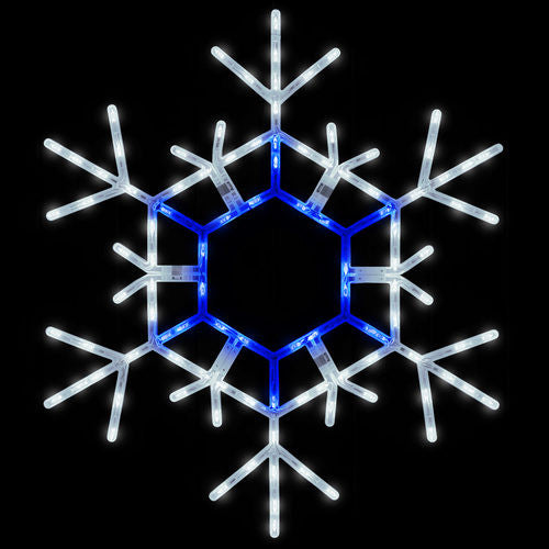 Wintergreen 79773 Blue And Cool White Folding Snowflake