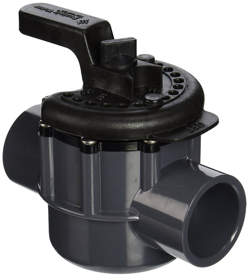 "Pentair 263038 1.5"" 2-Way lube-free diverter valve, with 2"" slip outside"