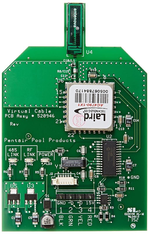 Pentair 520946Z transceiver circuit board