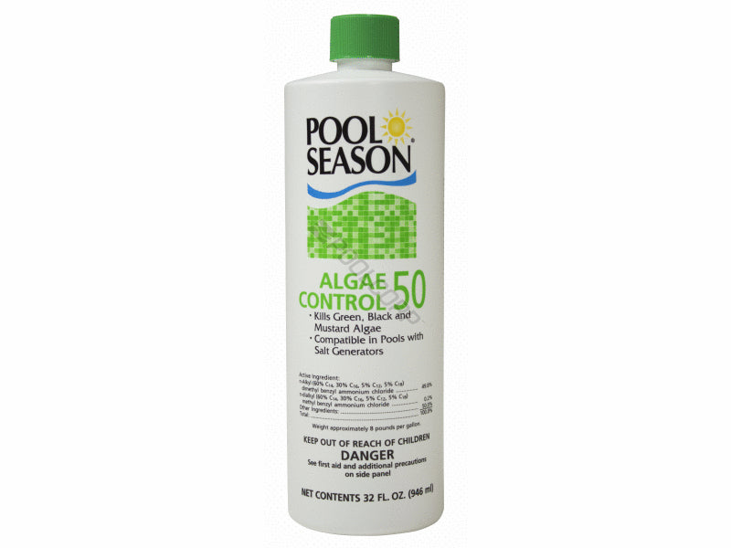 Pool Season 013-1320 QT POOL SEASON ALGAECIDE 50