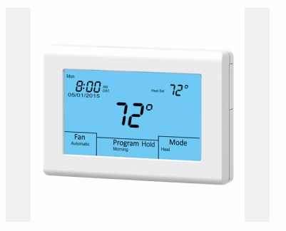 IO HVAC Controls UT32 titan touchscreen thermostat