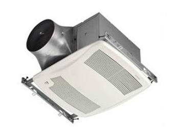 "Nutone ZN110H Bathroom Fan, 110 CFM Multi Speed ULTRA GREEN Series w/Humidity Sensing - for 6"" Duct"