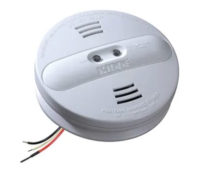 Kidde PI2010 Smoke Detector, 120V Dual Sensor Ionization & Photoelectric w/Hush Button & Battery Backup