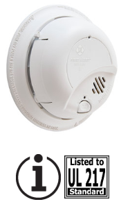 BRK 9120AB, 120v, 9V alkaline battery backup smoke alarm