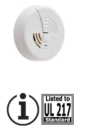 BRK FG250LB Ion 9V lithium battery, silence, RV approved smoke alarm