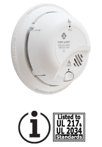 BRK SCO2B Battery Powered Smoke/CO Combo Alarm