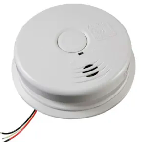 Kidde i12010SCO carbon monoxide & smoke detector, 120V 10-year worry-free AC/DC sealed lithium wire-In with battery back-up
