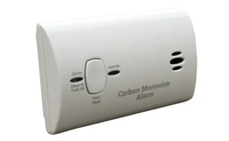 Kidde KN-COB-LP2 Carbon Monoxide Detector, 2 AA Battery Powered