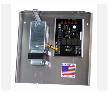 IO HVAC Controls IO-FAV-enhanced fav panel with transformer, junction box and wiring under single cover