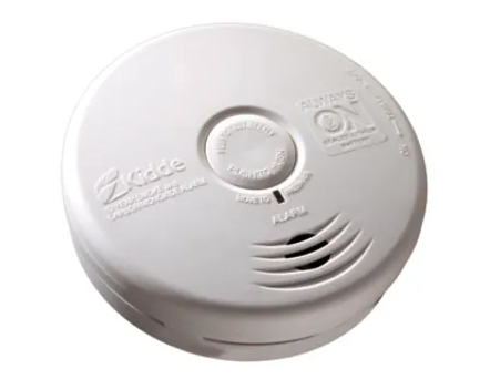 Kidde P3010K-CO  Carbon Monoxide & Smoke Detector, 10-Year Worry-Free DC Sealed Lithium Battery Powered for Kitchen