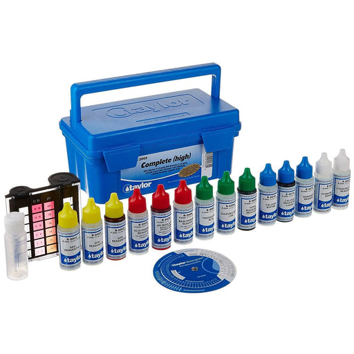 Taylor K-2005 Deluxe Dpd Pool And Spa Water Test Kit - K-2005