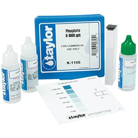 Taylor Technologies K-1106 Phosphate Test Kit