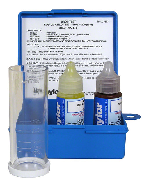 Taylor Technologies K-1766 SALT TEST KIT