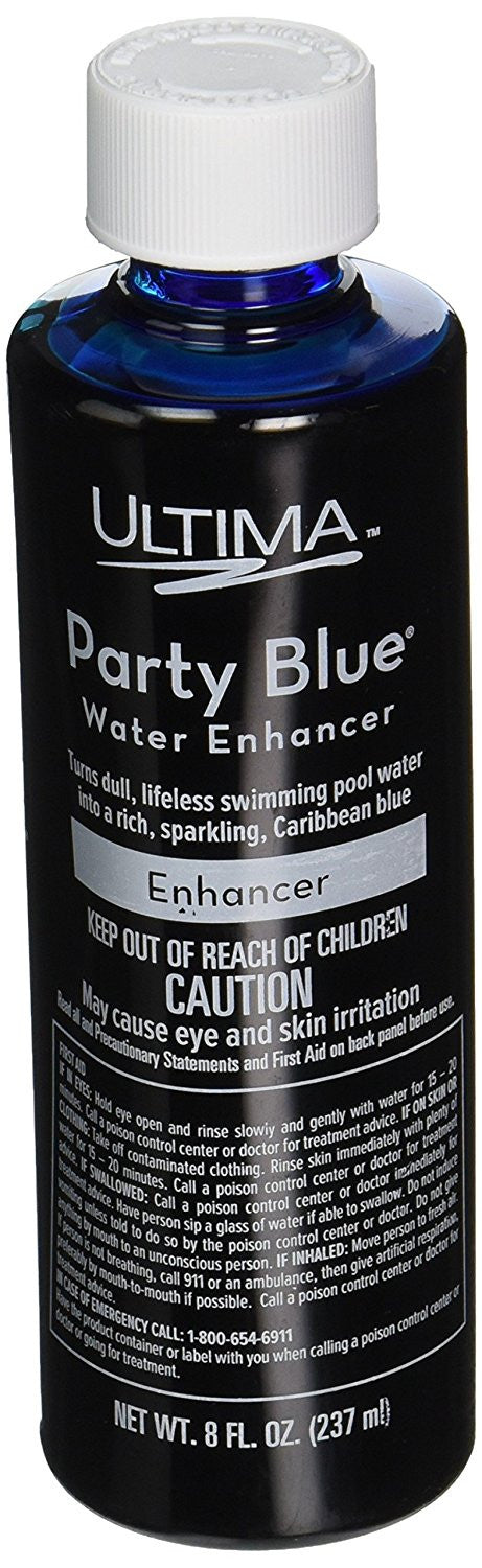 Advantis Ultima 27824 Party Blue Water Enhancer For Pools And Spas, 8-Ounce - Improve Wholesale