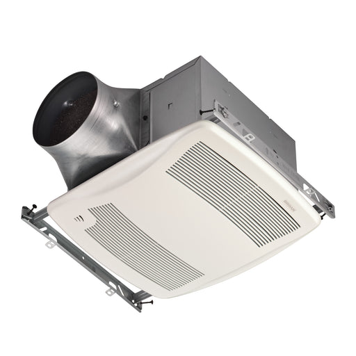 Broan XB110H Ultra Green Series 0.3-Sone 110-CFM White Bathroom Fan ENERGY STAR