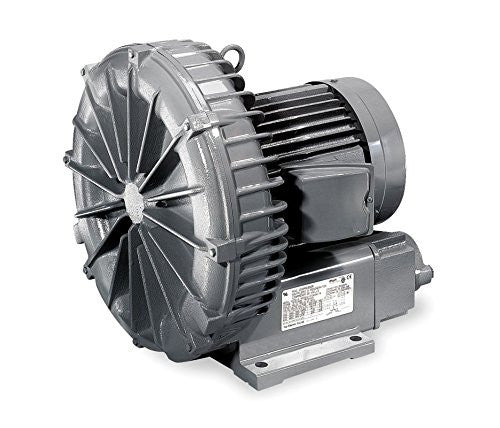 "Fuji VFC400P-5T  Regenerative Blower  1 hp, 1 Phase, 115/230 Voltage, 1-1/2"" (F)NPT Inlet Size - JACE Supply"