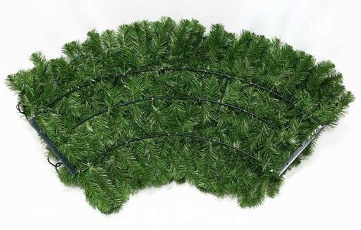 "Wintergreen 18876 24"" Commercial Sequoia Fir Prelit Wreath, 50 Clear Mini Lights"