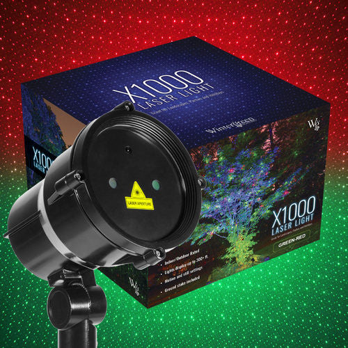 Wintergreen U73383 Green/Red X1000 Laser Light, Moving - JACE Supply