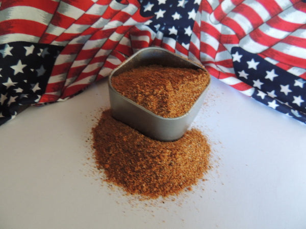 New York BBQ Barbeque Dry Rub In Tin