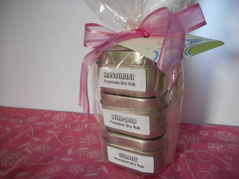 Mother's Day Gift Pack - Chicago, Gilroy & Santorini In Gift Wrap With Tag