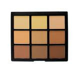 9C- 9 COLOR HIGHLIGHT/CONTOUR PALETTE