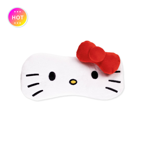 Hello Kitty Plushie Sleep Mask
