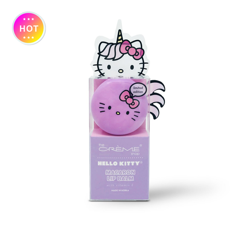 Hello Kitty Unicorn Macaron Lip Balm - Rainbow Sherbert