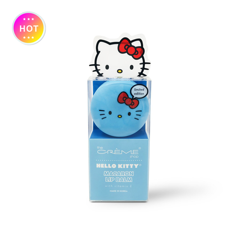 Hello Kitty Macaron Lip Balm - Cool As Mint
