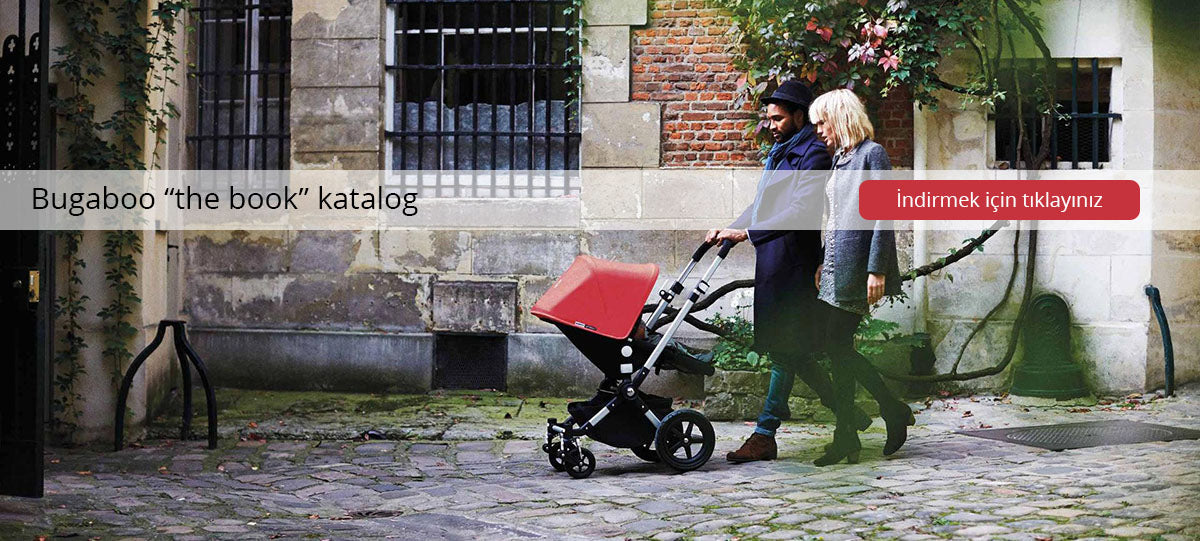 Bugaboo bebek arabası katalog the book