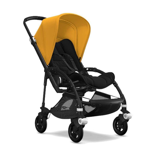 Bugaboo Bee5 Bebek Arabası (Black) Sunrise Yellow