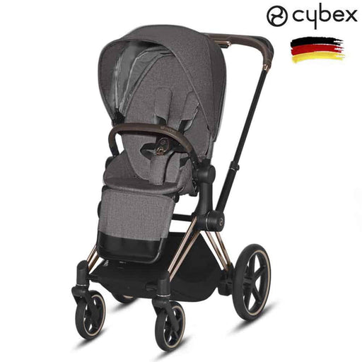 Cybex Priam Bebek Arabası (Rose Gold) Manhattan Grey