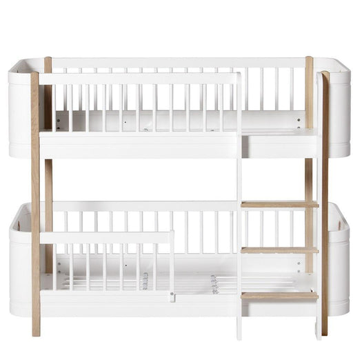 Oliver Furniture Çocuk Odası Low Bunk Ranza Karyola (Wood Mini+) White/Oak
