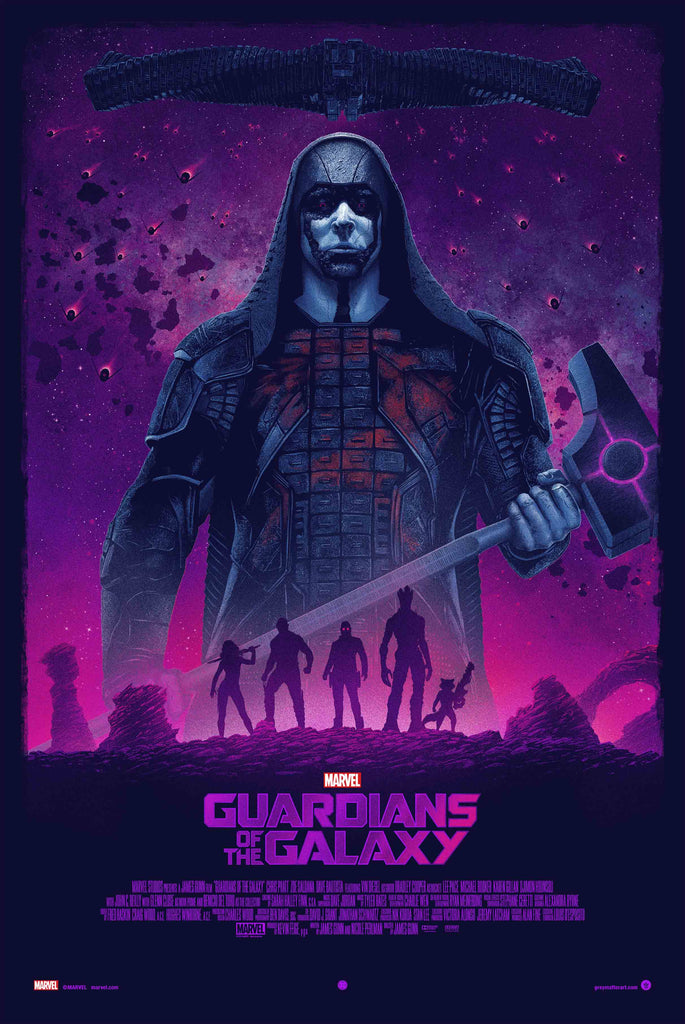 GMA to Release Guardians of the Galaxy by Marko Manev