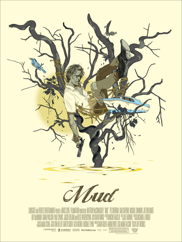 Mondo to Release Prints by Tomer Hanuka for Mud and Midnight Special