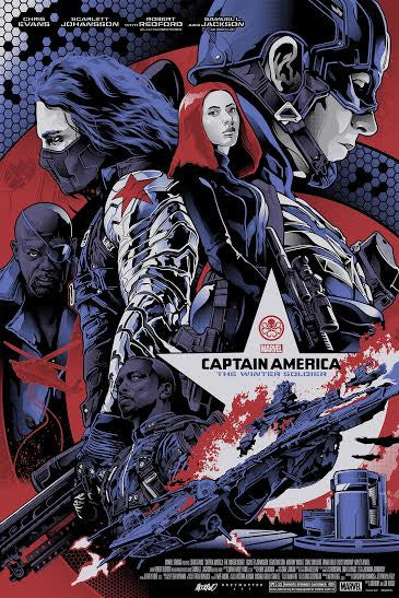GMA to Drop Captain America: Winter Solider Prints by Alexander Iaccarino