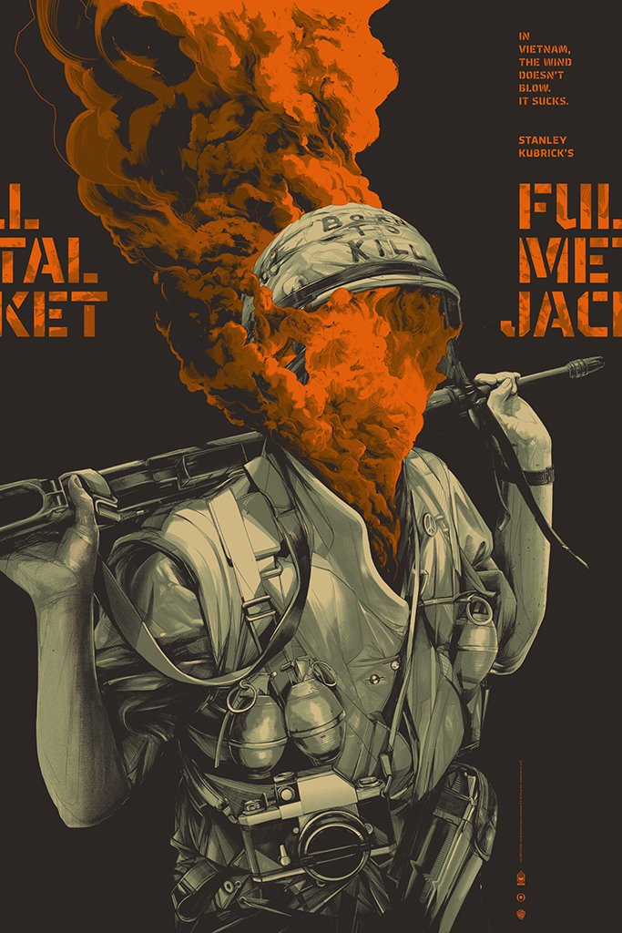 Oliver Barrett - Full Metal Jacket Variant (PRESALE)