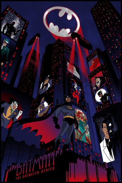 Raid71 (Chris Thornley) - Batman The Animated Series Foil Variant