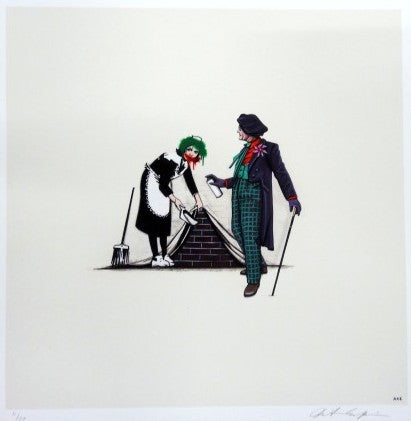 Kiersten Essenpreis - Joker Tags Over Banksy