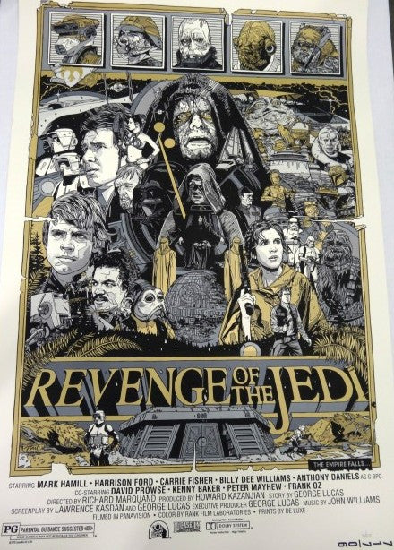 Tyler Stout - Revenge of the Jedi (Variant)