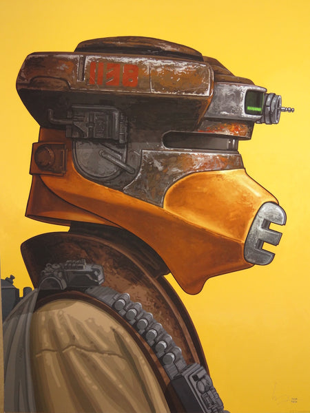 Mike Mitchell - Boushh (Leia Portrait)