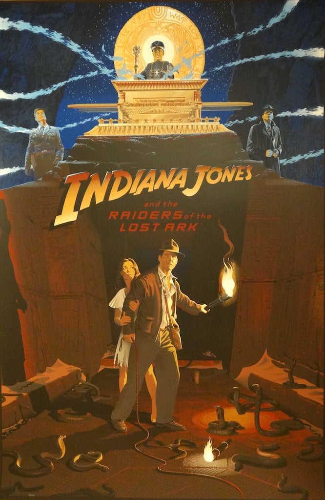 Laurent Durieux - Indiana Jones and the Raiders of the Lost Ark