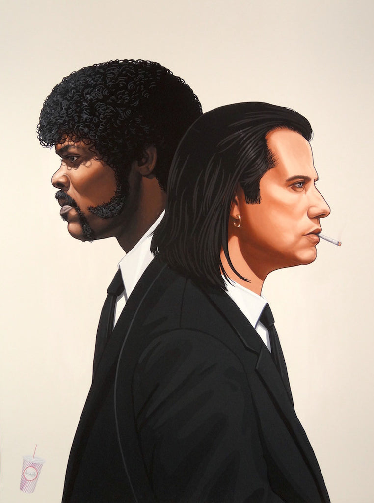 Mike Mitchell - Vincent and Jules (Portrait)