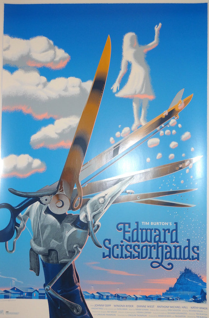 Laurent Durieux - Edward Scissorhands Foil Variant