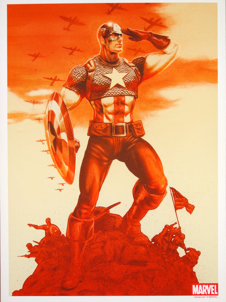John Keaveney - Captain America