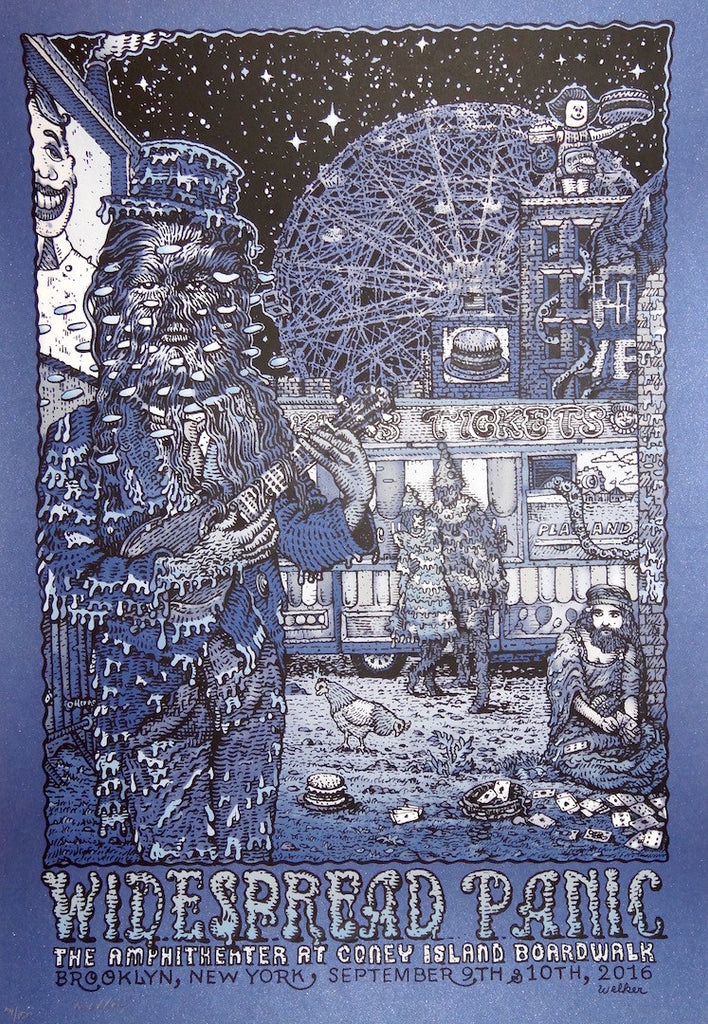 David Welker - Widespread Panic Coney Island AP Variant