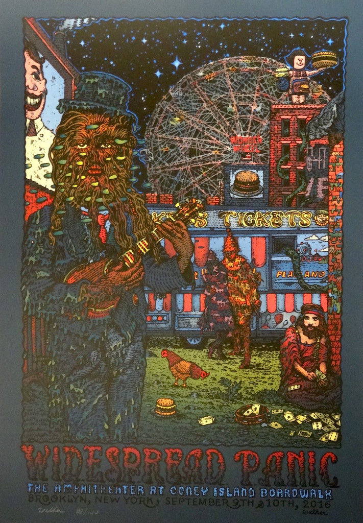 David Welker - Widespread Panic Coney Island AP