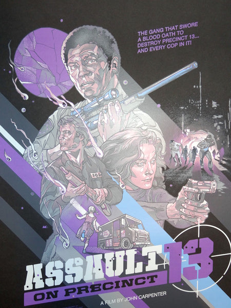 Martin Ansin - Assault on Precinct 13 Variant