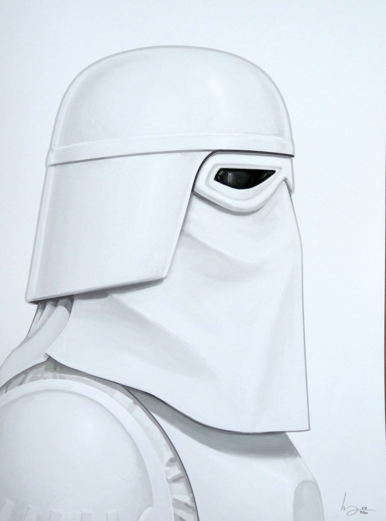 Mike Mitchell - Snow Trooper (Portrait)