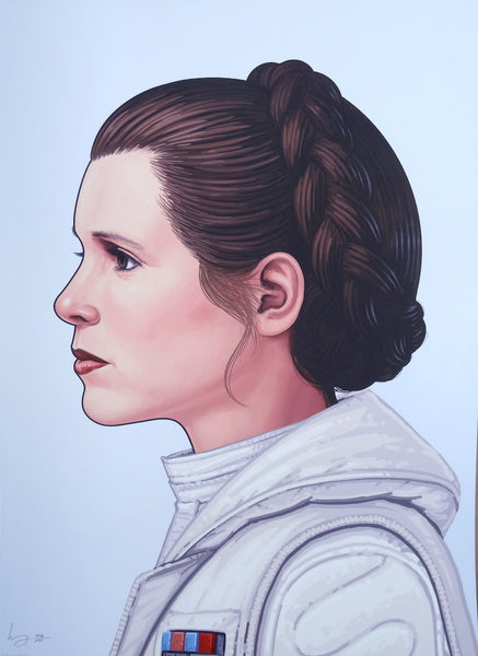 Mike Mitchell - Princess Leia (Portrait)